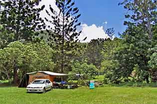 Midginbil Eco Resort camp ground site